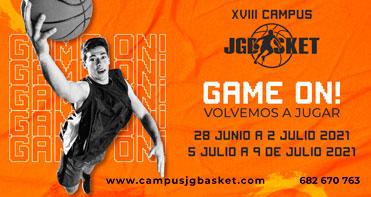 Campus Baloncesto Madrid. JGBasket. 2021. Game on